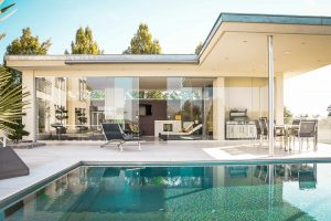 With clean lines and glass, contemporary style houses are easy to recognize