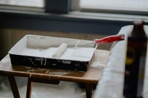 white paint for redecorating